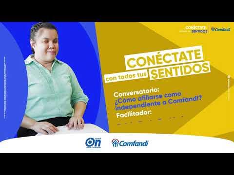 Conversatorio ConSentidos - ¿Cómo afiliarse como independiente a Comfandi?