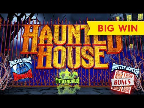 Bonus haunted house slot machine