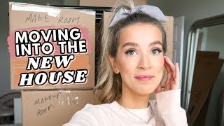 FINALLY MOVING INTO OUR NEW HOUSE + DECLUTTERING | leighannvlogs