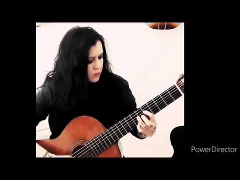 Classical guitar piece Lagrima