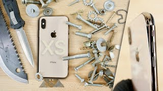 iPhone XS BEND & Scratch Test! Should You Be Worried?