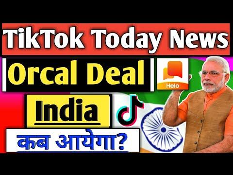 TikTok News Today | TikTok Ban News Today |Tik tok News | TikTok Latest News | Helo App News Today |