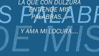 SOLO CON UN BESO (Letra) Ricardo Montaner.