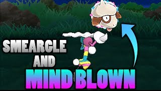 Smeargle  - (Pokémon) - What Does Smeargle Look Like Using Blacephalon's Mind Blown Attack In Pokemon Ultra Sun and Moon?