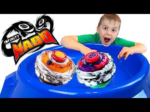 Инфинити НАДО Самые тяжелые и самые большие Сплит Блэйд два в одном Игры для мальчиков