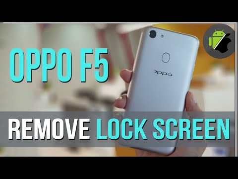OPPO F5 PATTERN LOCK PIN LOCK ONE CLICK BY MRT DONGLE