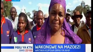 Wakongwe wahusishwa katika mazoezi