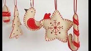 Felt Cloth Fabric  Christmas Ornaments