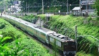 大迫力!貨物列車の山岳スイッチバック 篠ノ井線 姨捨駅