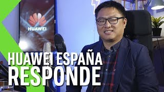 Pablo Wang, CEO de Huawei España, nos aclara las polémicas con el veto de EE.UU.