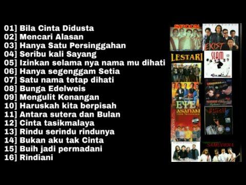 lagu malaysia terpopuler dan terbaik di era 90 exist eye slam lestari spoon screen dll