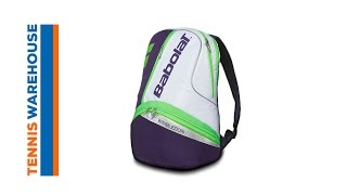 Babolat Team Wimbledon Backpack video