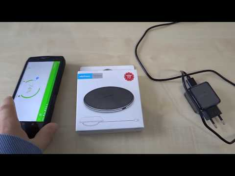 Ulefone 10W 9V Fast Charging Qi Wireless Desktop Charger Pad from bg