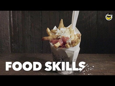 How New York's Favorite French Fries Get Made | Food Skills