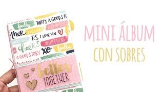 Mini álbum Con Sobres De Carta - TUTORIAL Scrapbook