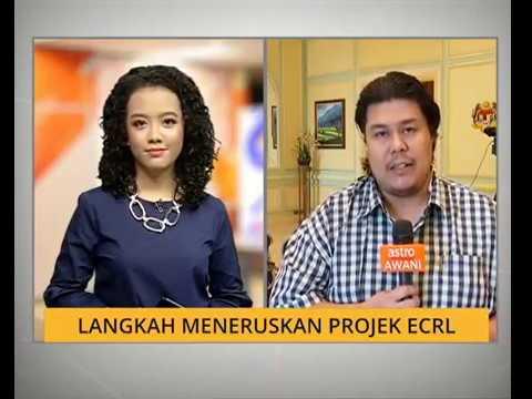 Langkah meneruskan projek ECRL