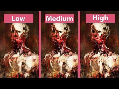 Layers of Fear – PC Low vs. Medium vs. High Graphics Comparison