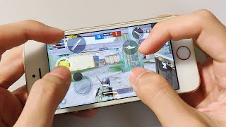 IPhone 5s - PUBG Mobile 4 Fingers Claw - Gaming Performance Test