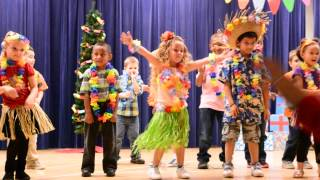 Mele Kalikimaka Christmas Program at School Kindergaten