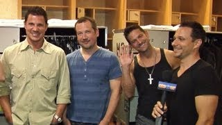 "98 DEGREES INTERVIEW: THE PACKAGE TOUR, NEW ALBUM ""2.0"", NEW SONG ""MICROPHONE""!"
