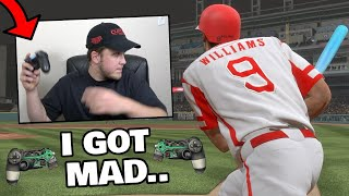 this game made me THROW my controller... MLB THE SHOW RAGE