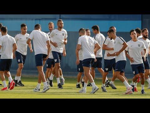En-Nesyri se incorpora a la concentración del Málaga tras el Mundial