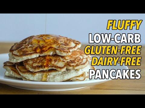 Ultimate Low-Carb Gluten Free Dairy Free Pancakes / Panqueques Bajos en Carbohidratos