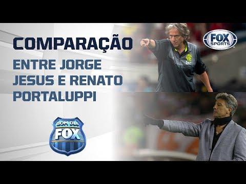 DUELO EXTRA CAMPO! Veja a comparação entre os técnicos de Flamengo e Grêmio