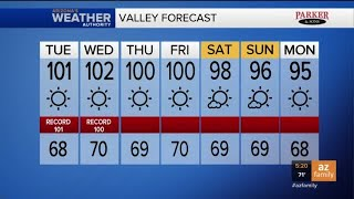FORECAST: Phoenix set to tie a big record