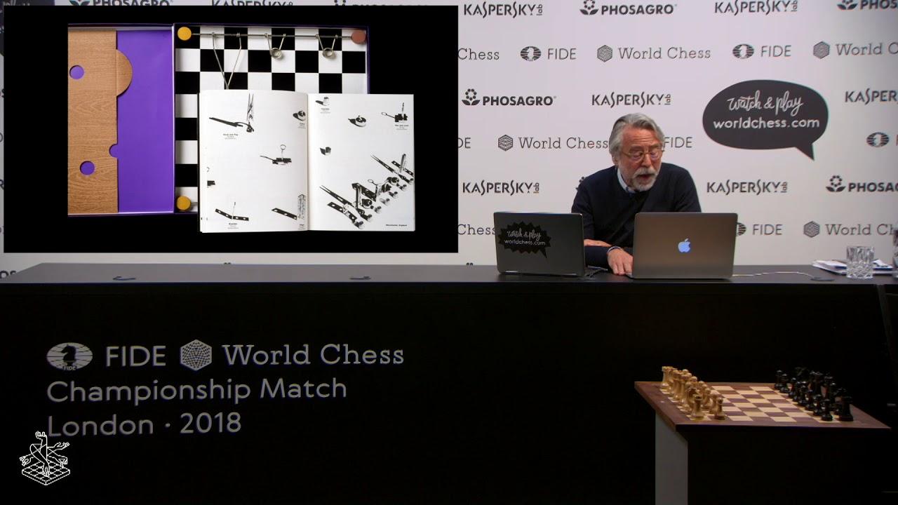 Daniel Weil, Renown Architect, on theWorld Chess Set Design