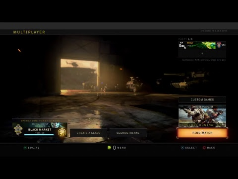 Road to dark matter bo4