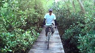 preview picture of video 'Bike to Bang khun tian seaside.02'