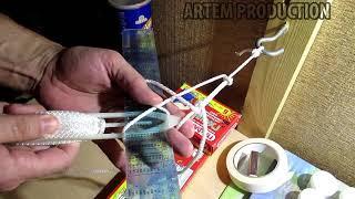 Как правильно связать подсачек из лески