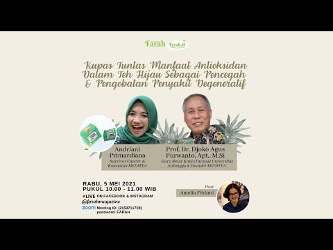 Farah ZoomTalk Spesial Ramadhan • Salam sehat, bahagia penuh kegembiraan