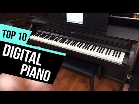 10 Best Digital Pianos 2018 Reviews