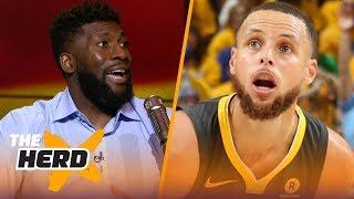 Festus Ezeli on Steph Curry's greatness, LeBron chasing Michael Jordan's 6 titles | NBA | THE HERD