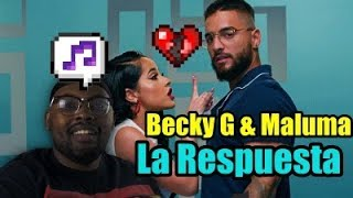 Becky G & Maluma   La Respuesta (Official Video) | Reaction  Reaccion Video