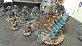 Studio update- Egyptians Necrons, Knight-Acheron, and more!