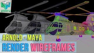 vray maya wireframe render - मुफ्त ऑनलाइन