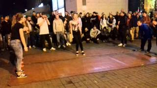 Дюнола на Майдане(уличные батлы) 18 октября 2015