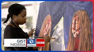 Check Out Nengi Omuku, Contemporary Artist Using Art As Therapy For Mental Illness