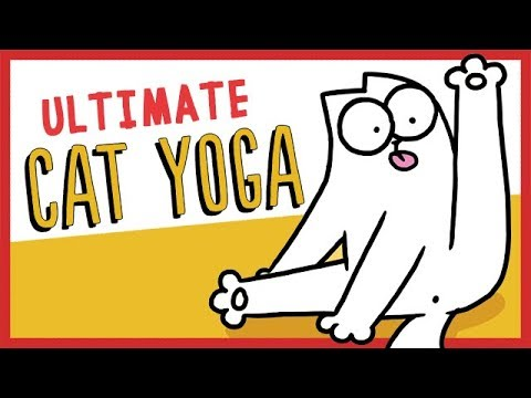 Ultimate Cat Yoga – Simon's Cat | GUIDE TO
