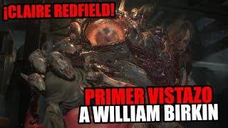 ¡Nuevas imagenes de Resident Evil 2 y William Birkin! #Gamescom