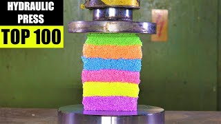 Top 100 Best Hydraulic Press Moments | Satisfying Crushing Compilation