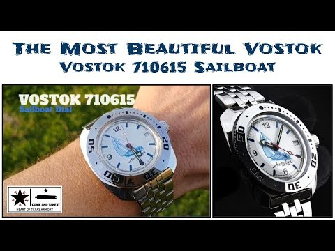 The Most Beautiful Vostok! – Vostok 710615 Sailboat Review