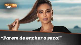 """""""Eu, bolsominion? Parem de encher o saco!"""", dispara Juliana Paes"""