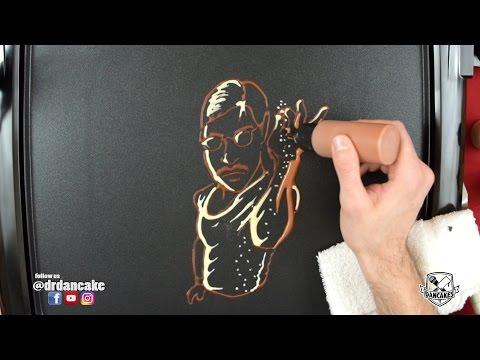 Salt Bae Pancake Art (Salt Chef MEME)
