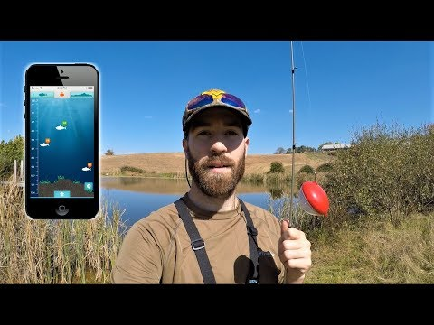 iBobber Fish Finder IN ACTION (quick review)