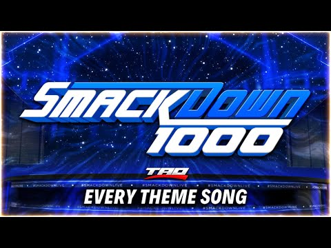 WWE: SmackDown 1000 - Every Official Theme Song (INCLUDING BUMPER THEMES)