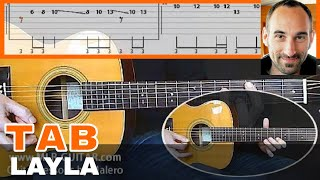 Layla unplugged Guitar Tab